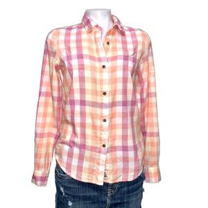 The North Face Long-Sleeve Button Up Plaid Shirt S